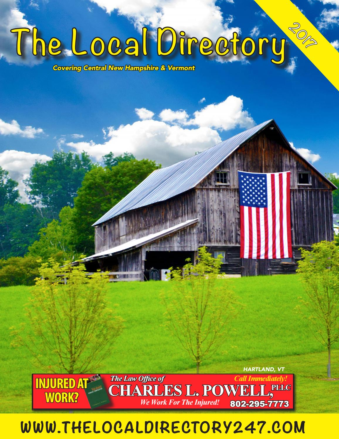 The Local Directory White Pages 2017 By Dawn Renee Patnode