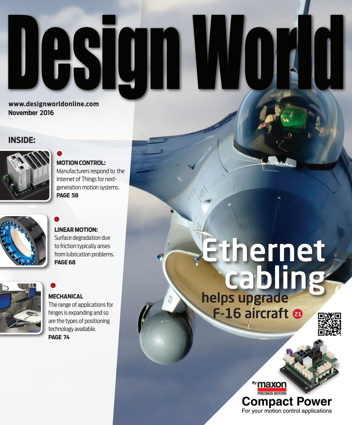 Design World November 2016 By Wtwh Media Llc Issuu Most Versatile Electronics Simulator In The Autodesk Circuits