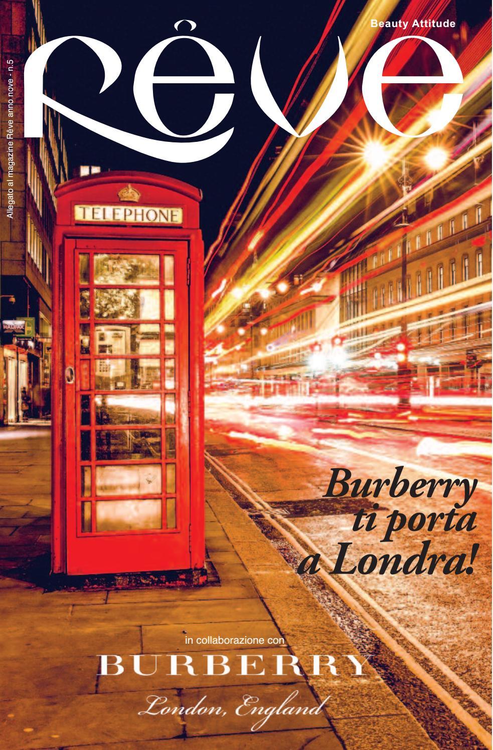 Burberry Brit Store A Milano : Reve inserto burberry by unique media issuu