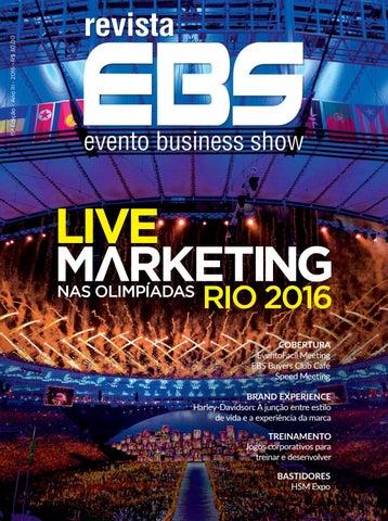 7a29e79c8 Revista EBS 15ª Edição - Live Marketing nas Olimpíadas Rio 2016 by ...