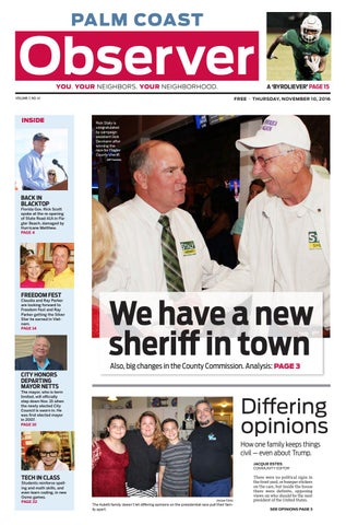 Palm Coast Observer Online 11-10-16 by Brian McMillan - issuu
