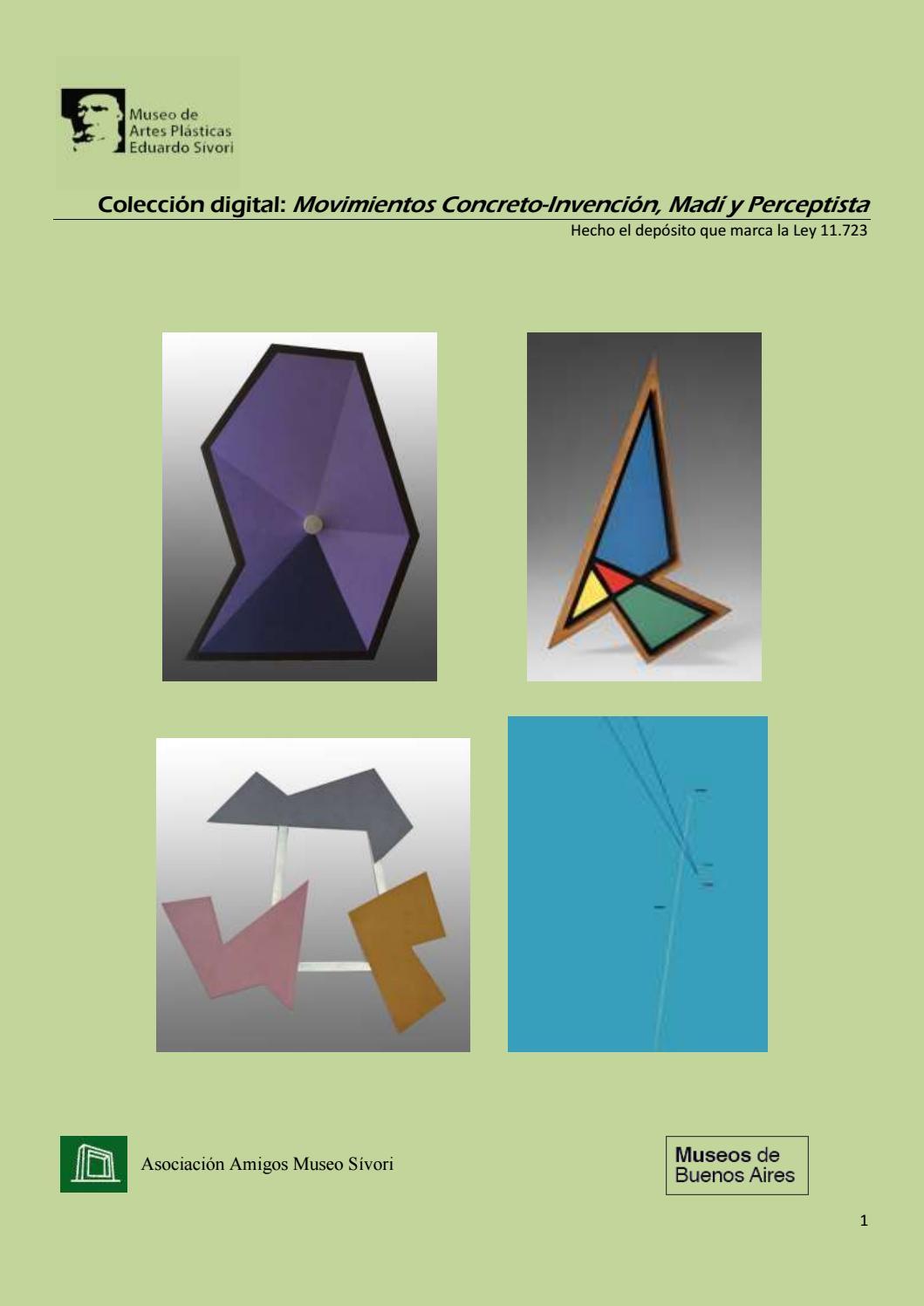 Colección digital. Movimientos Concreto - Invención, Madí y ...