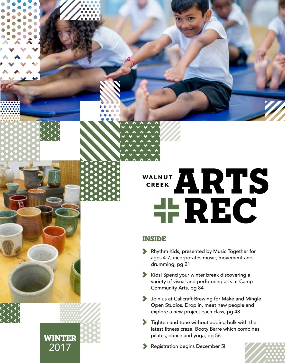 City of Walnut Creek Guide to Arts + Rec - Winter 2017 by City of Walnut  Creek - issuu 4be79017b