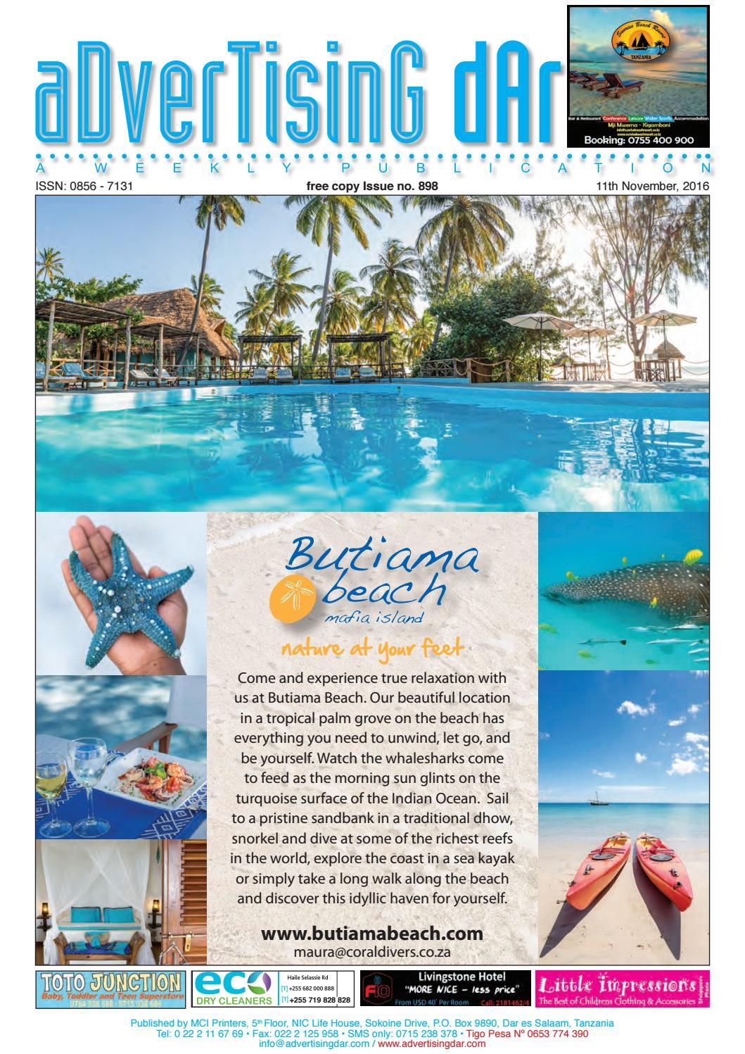 Advertising Dar Issue Nº 898 - 11th November 2016 by