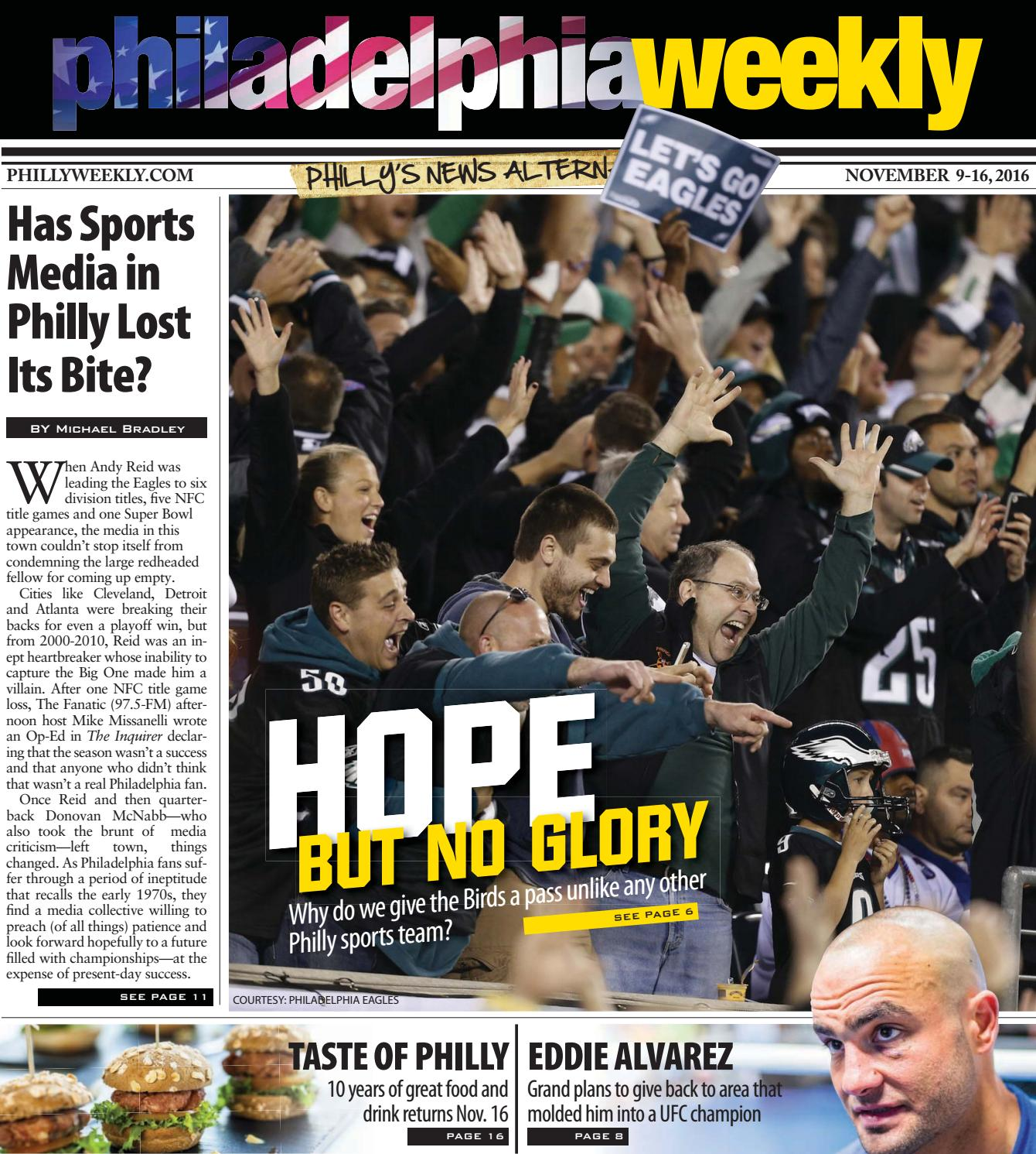 61a0e2119 Philly Weekly 11-9-2016 by Philadelphia Weekly - issuu