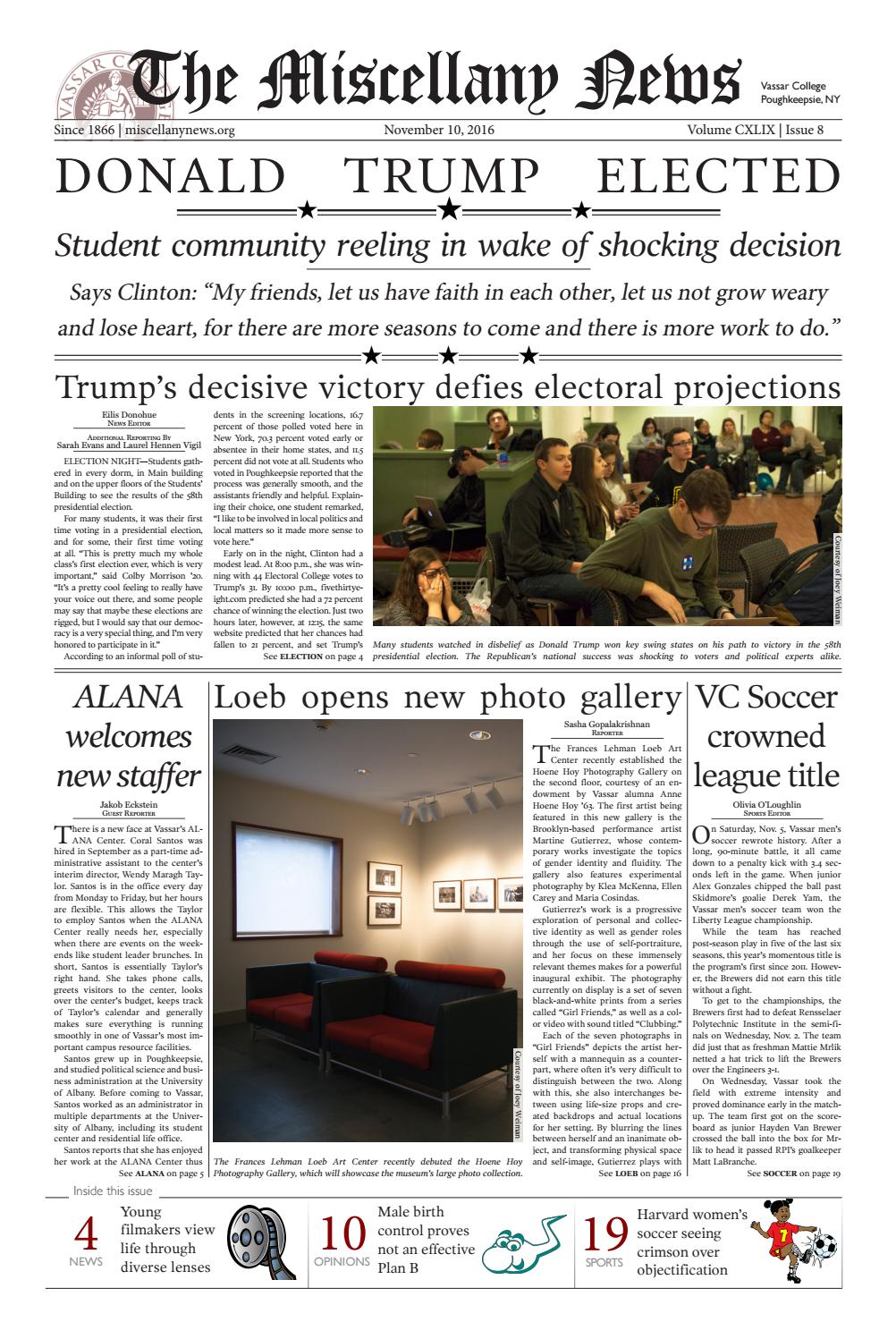 Misc11 10 16print by The Miscellany News - issuu