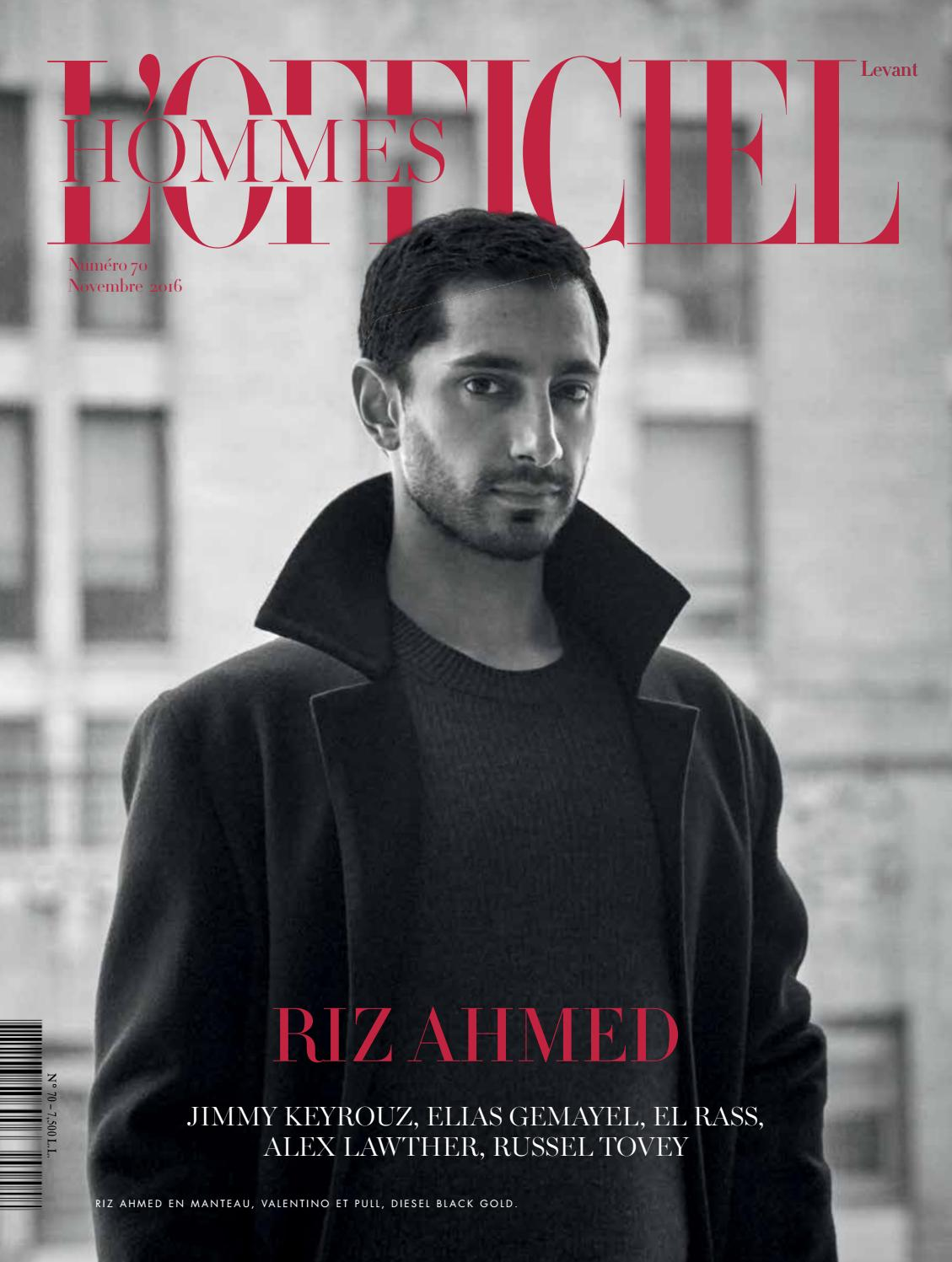 6d10778e2b611 L'Officiel Hommes-Levant, November Issue 70 by L'Officiel Levant - issuu