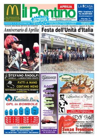 Il Pontino Aprilia - Anno XXVII - N.19 - 9 22 Novembre 2016 by Il ... 015c52ca6aa2