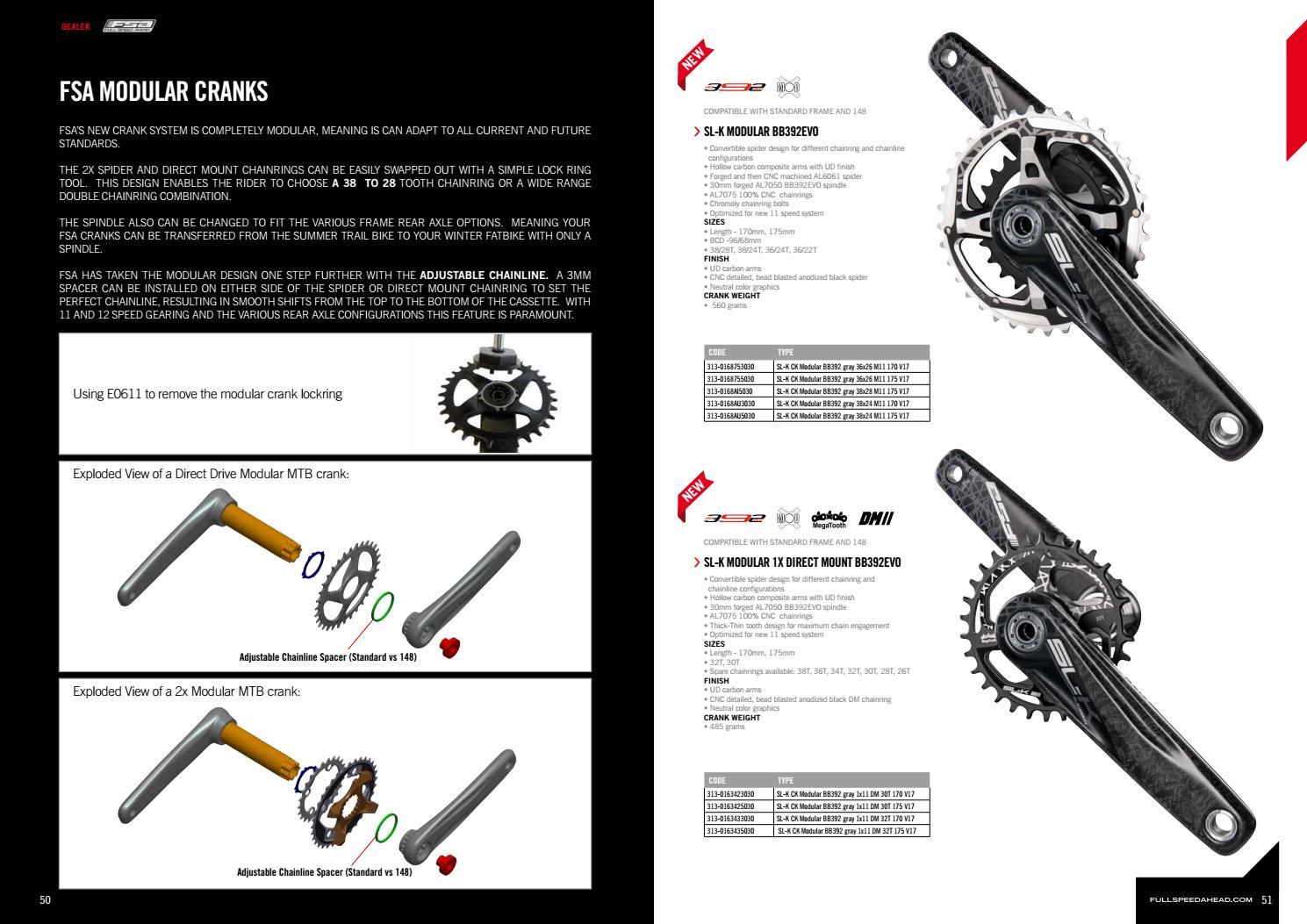 2017 Dealer Catalog – FSA, VISION, METROPOLIS by FSA - Full Speed ...