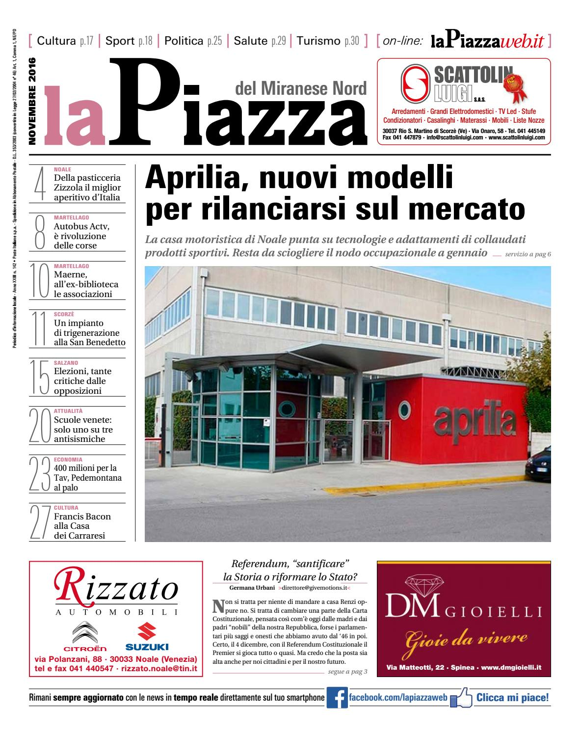 Miranese Nord Nov2016 N142 By Lapiazza Give Emotions Issuu