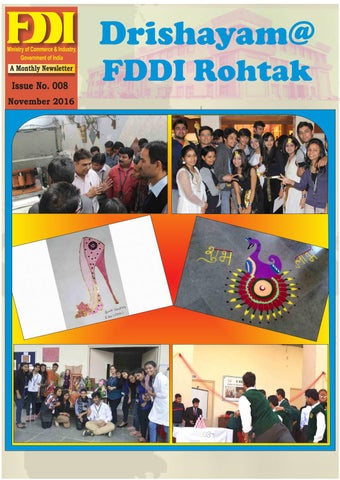 Drishayam@fddi rohtak ( issue no 008, nov 2016)