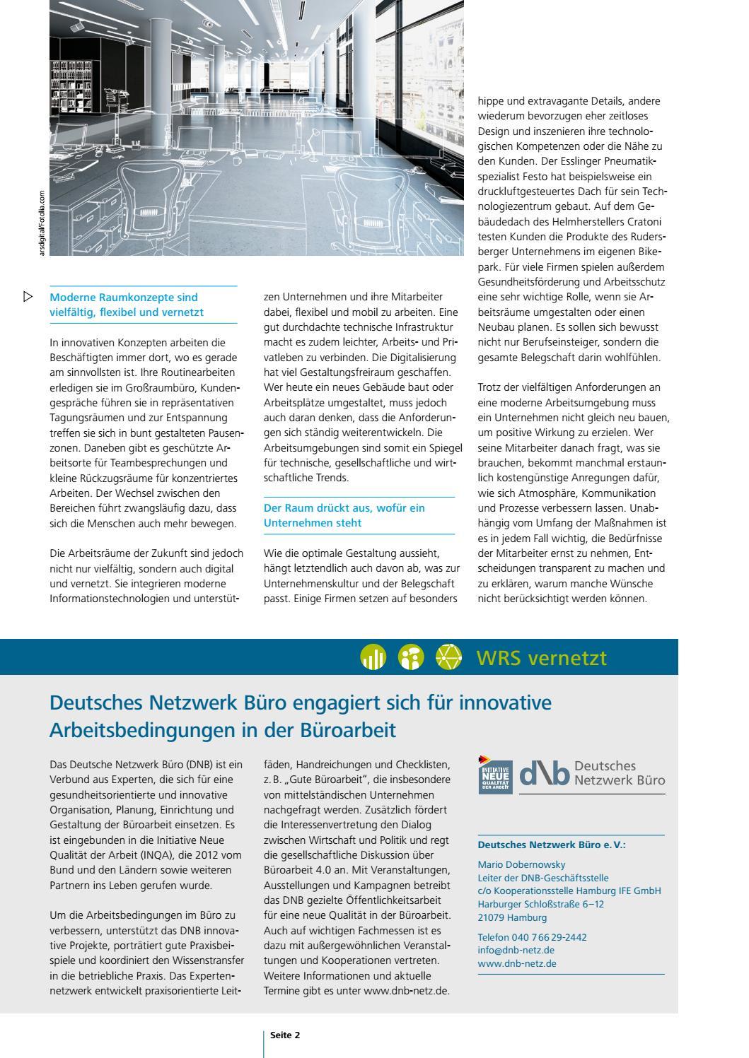 Talente Ausgabe 4 2016 Raumwelt Arbeitsraum By Region Stuttgart
