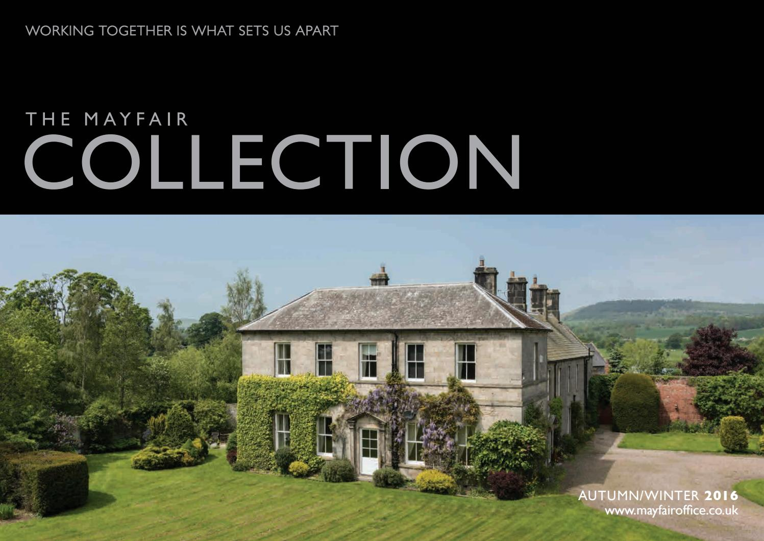 Mayfair Collection A/W 16 by PelusaCreate - issuu
