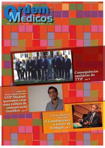 787c96d5e Revista Ordem dos Médicos Nº173 Outubro 2016 by Ordem Dos Médicos ...