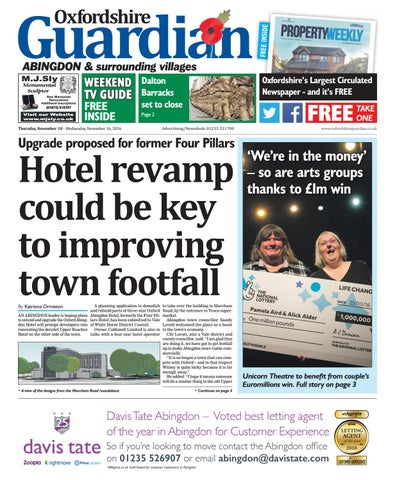 3282a2abedc4 10 november 2016 guardian abingdon by Taylor Newspapers - issuu