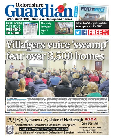 34765464aaa4 10 november 2016 guardian wallingford by Taylor Newspapers - issuu