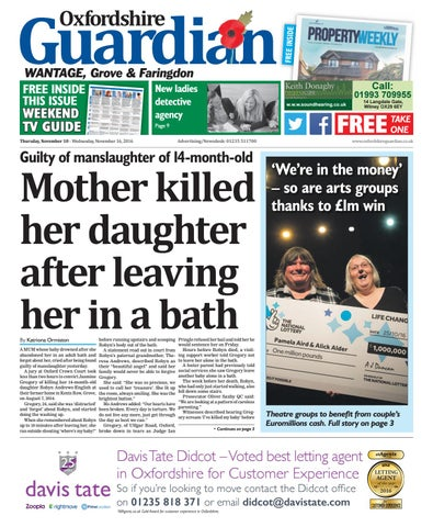 10 november 2016 guardian wantage by taylor newspapers issuu page 1 fandeluxe Image collections