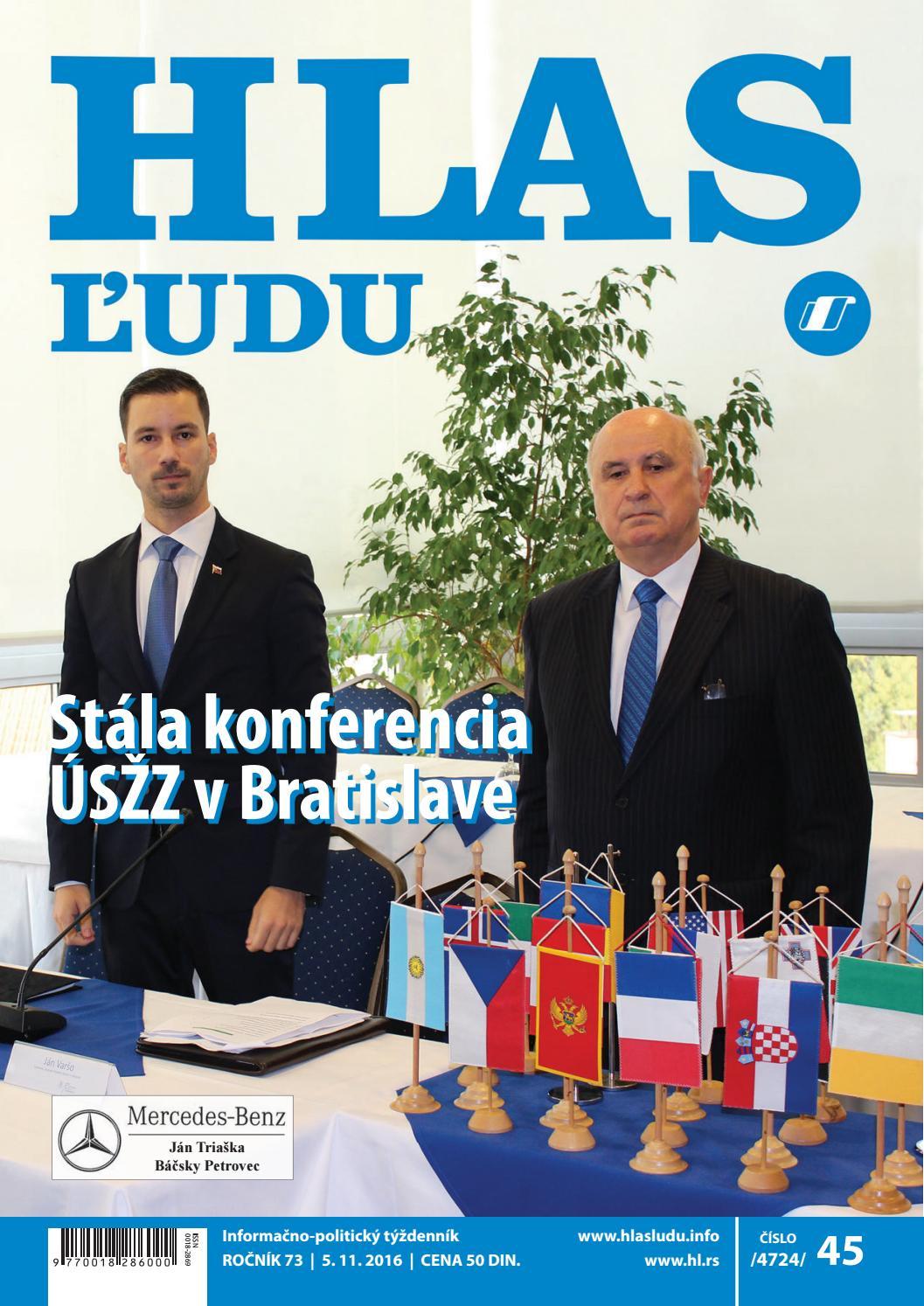 61fdba39c Hlas 45 2016 by NVU Hlas ľudu - issuu