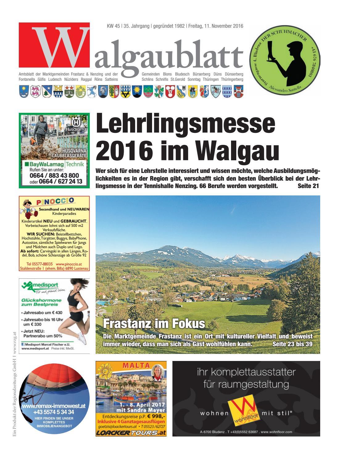 Walgaublatt 45 by Regionalzeitungs GmbH - issuu