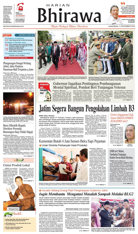 Binder11nov16 By Harian Bhirawa Issuu Produk Ukm Bumn Bahan Songket Sulam Katun Merah