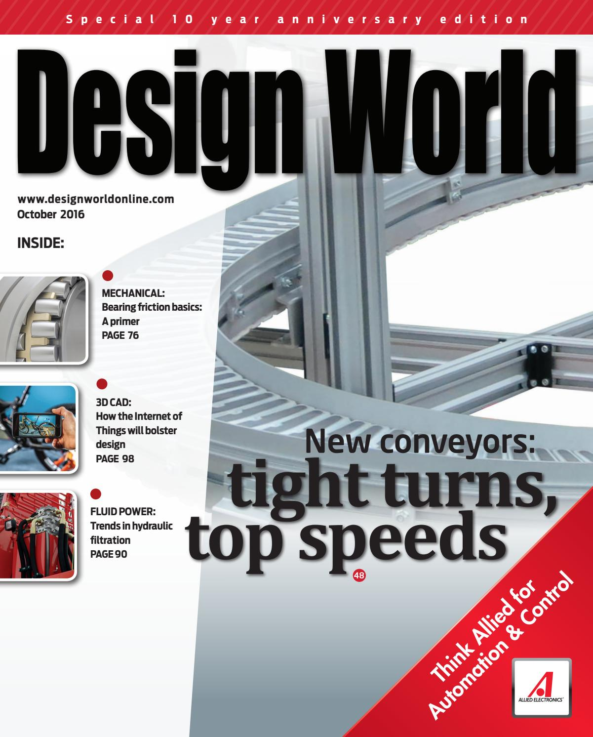 Design World October 2016 by WTWH Media LLC - issuu