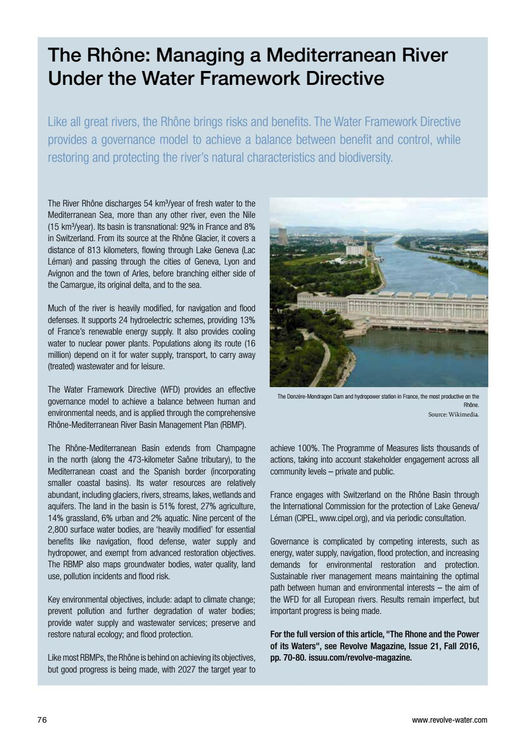 Water Report 2016 _ English Version by REVOLVE - issuu