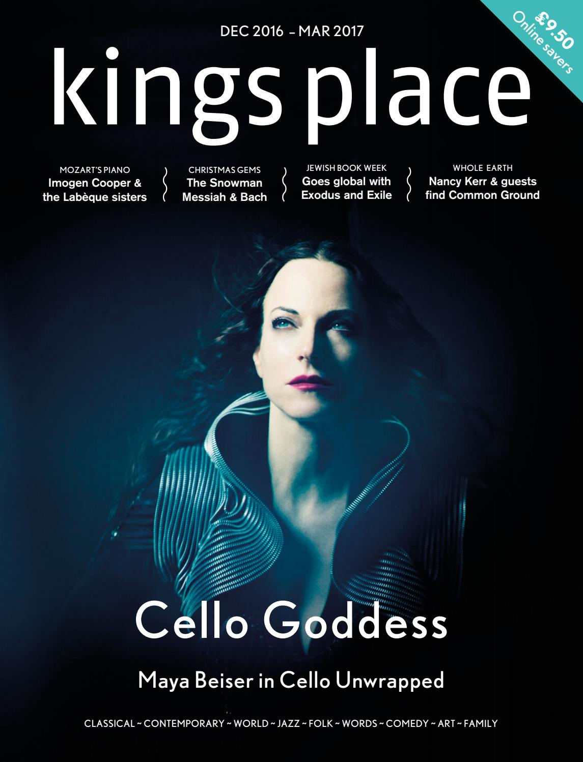 Kings Place €� What's On €� December 2016 To March 2017 By Kings Place  Issuu