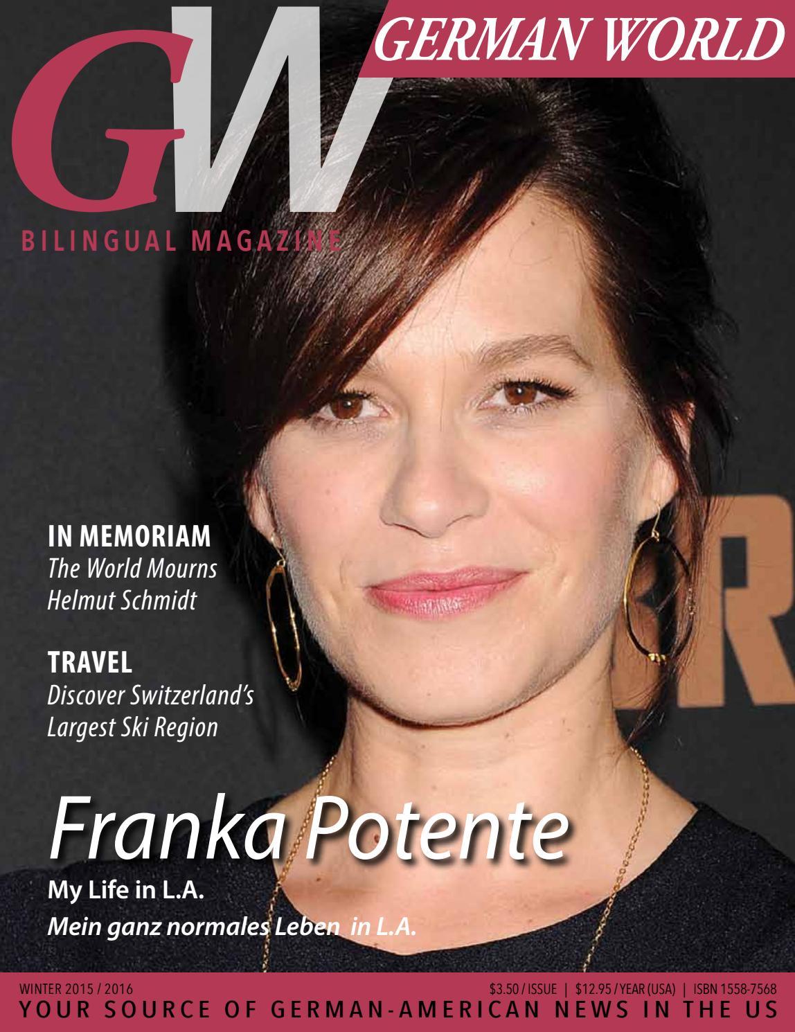 German World Magazine / Winter 2015 by German World Magazine - issuu
