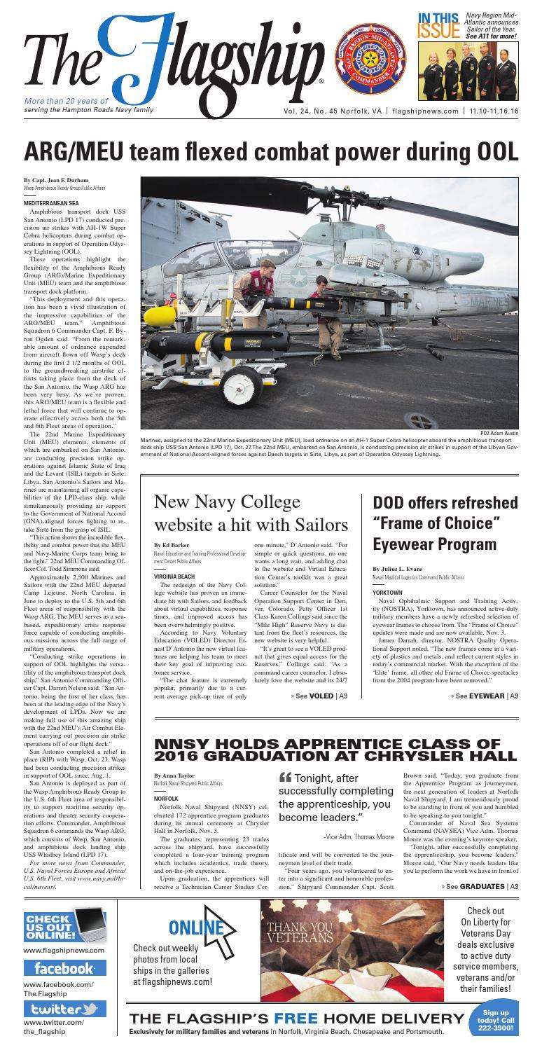 acb2cdef3da Flagship 11 10 16 by Military News - issuu