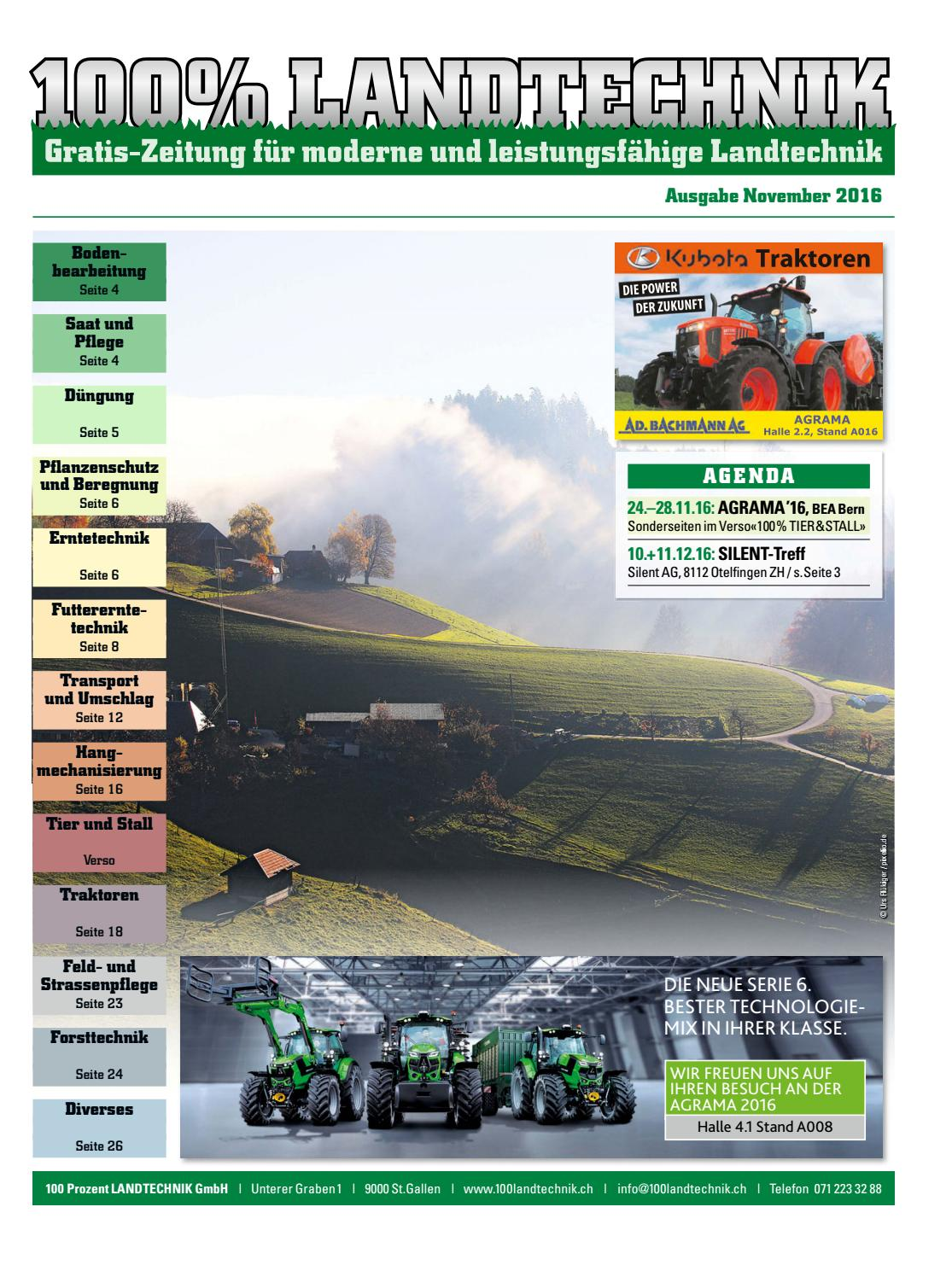 100 Landtechnik No 91 November 2016 By 100 Landtechnik Issuu