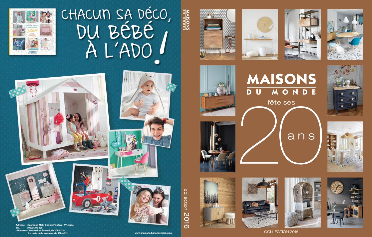 Catalogue Maisons du Monde by Maisonsdumonde - issuu