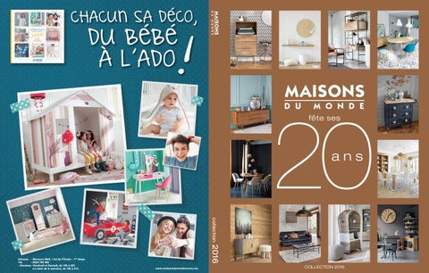catalogue maisons du monde by maisonsdumonde issuu. Black Bedroom Furniture Sets. Home Design Ideas