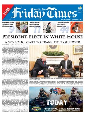11th Nov 2016 By Kuwait Times Issuu