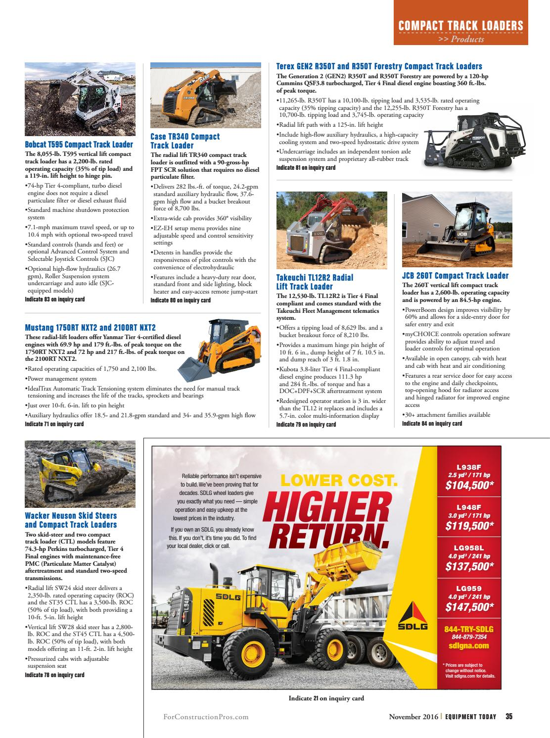 Equipment Today November 2016 by ForConstructionPros com - issuu