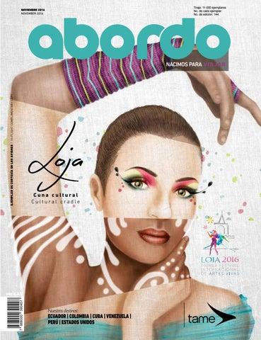 huge discount a328b bbf08 Revista Abordo - Primer Festival Internacional de Artes Vivas Loja ...