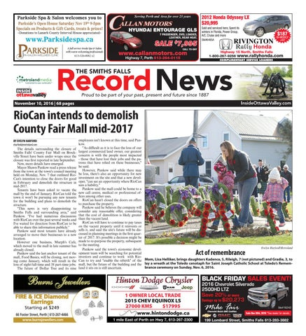 Smithsfalls111016 by metroland east smiths falls record news issuu page 1 fandeluxe Choice Image