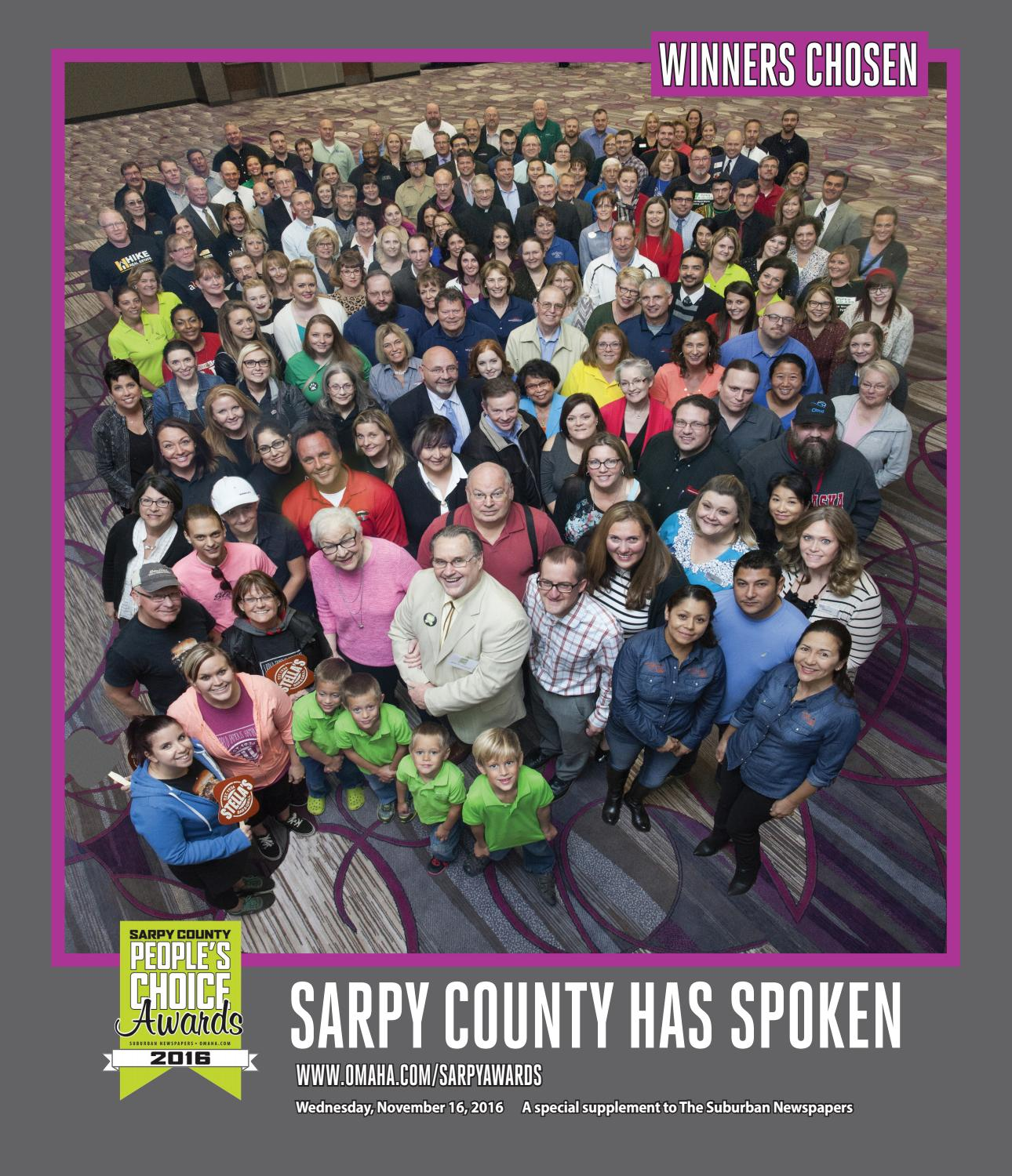 Sarpy County People S Choice Awards 2016 By Suburban