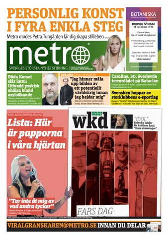 94a7fa74 20161111_se_goteborg by Metro Sweden - issuu
