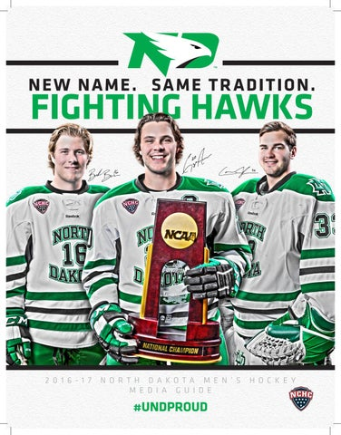 0b2d1637f 2016-17 UND Men s Hockey Media Guide by University of North Dakota ...