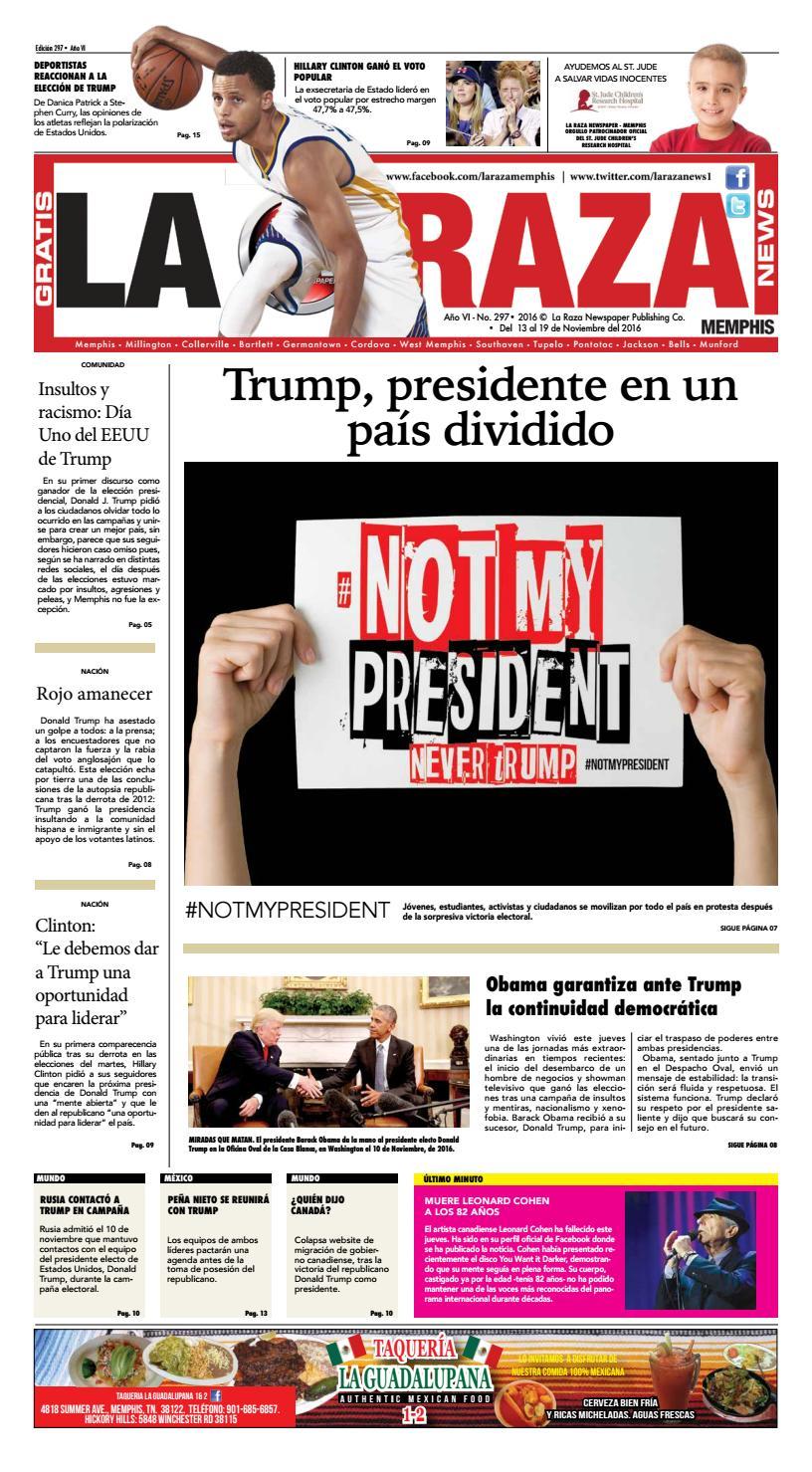La Raza Newspaper. Memphis, TN. by Nancy Águila - issuu