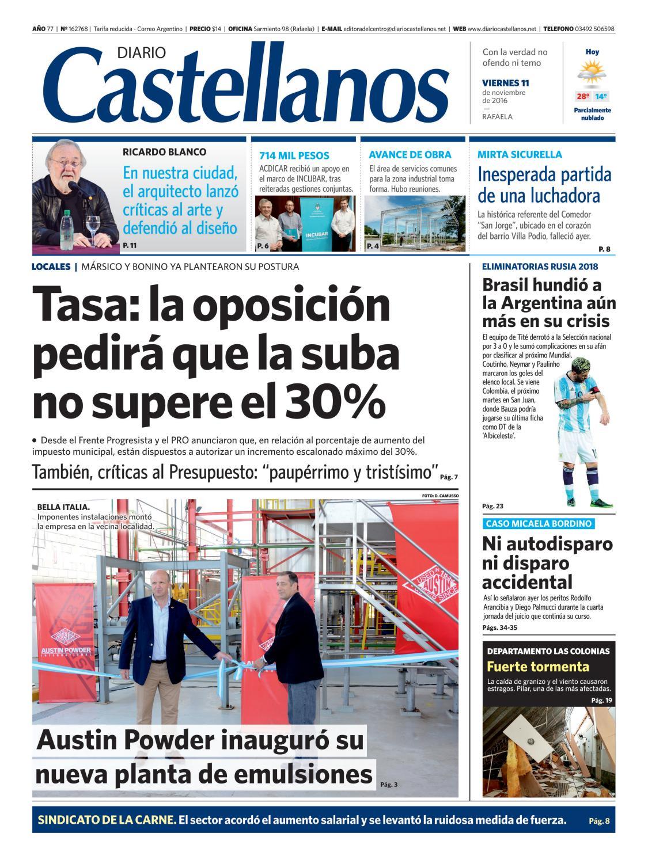 Diario Castellanos 11 11 by Diario Castellanos - issuu