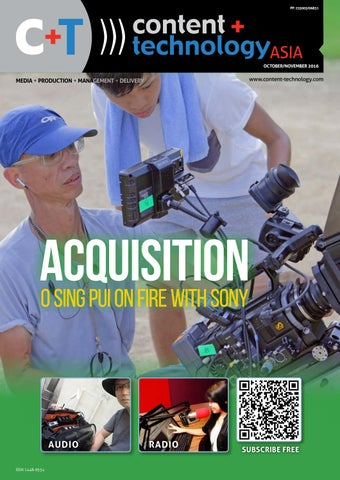 Content+Technology ASIA October-November 2016 by Broadcastpapers Pty ... 5b03eb077468