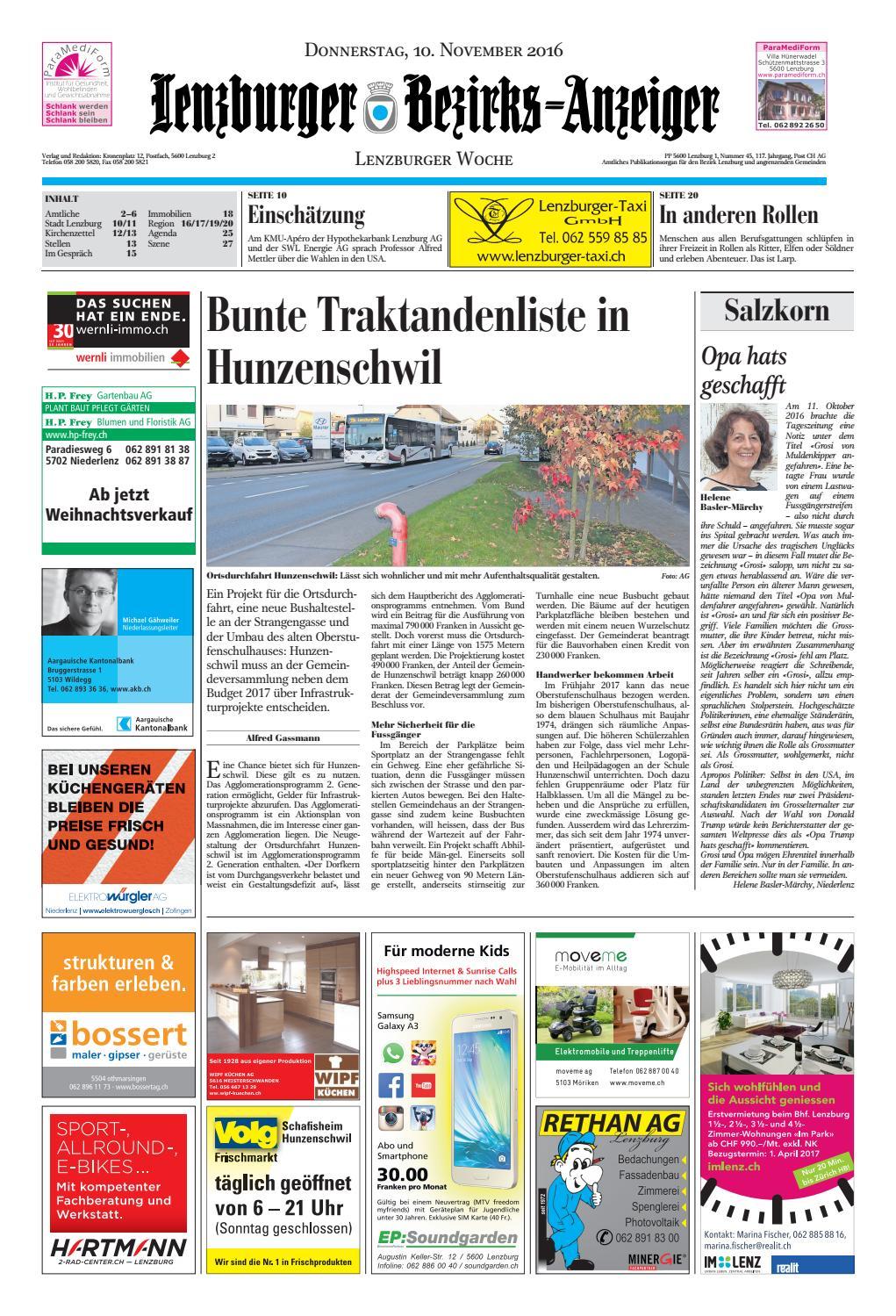 20161110 woz lbaanz by AZ-Anzeiger - issuu