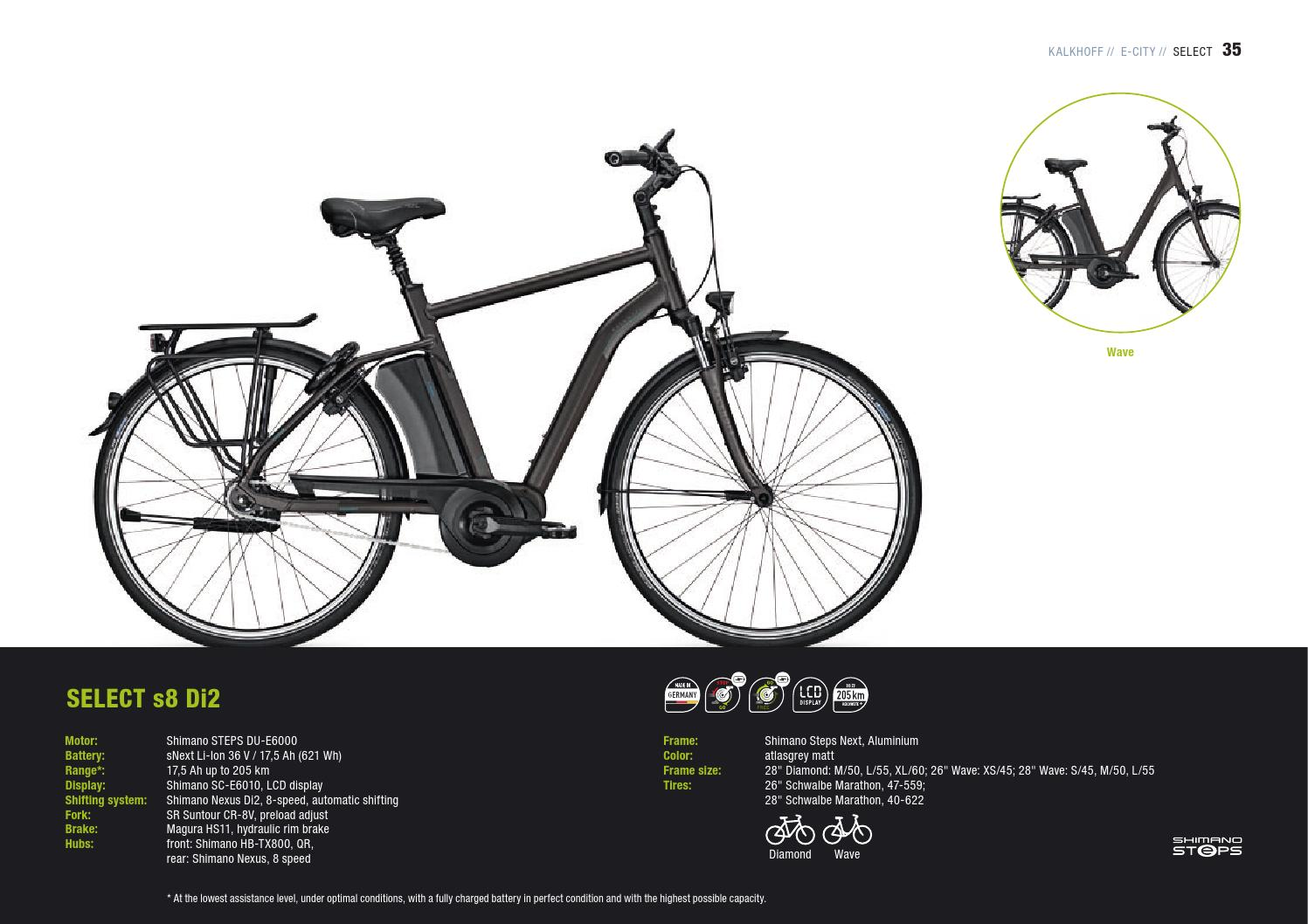 Kalkhoff E-Bikes 2017_GB by Derby Cycle - issuu