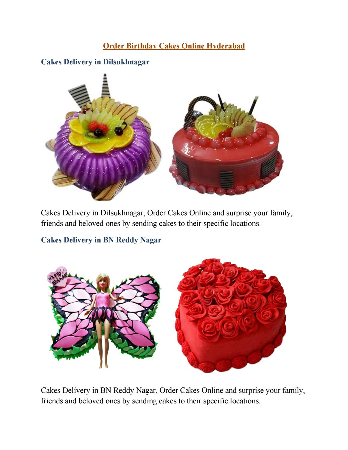 Online Cake Delivery In Hyderabad Bestbake By Bestbake Issuu