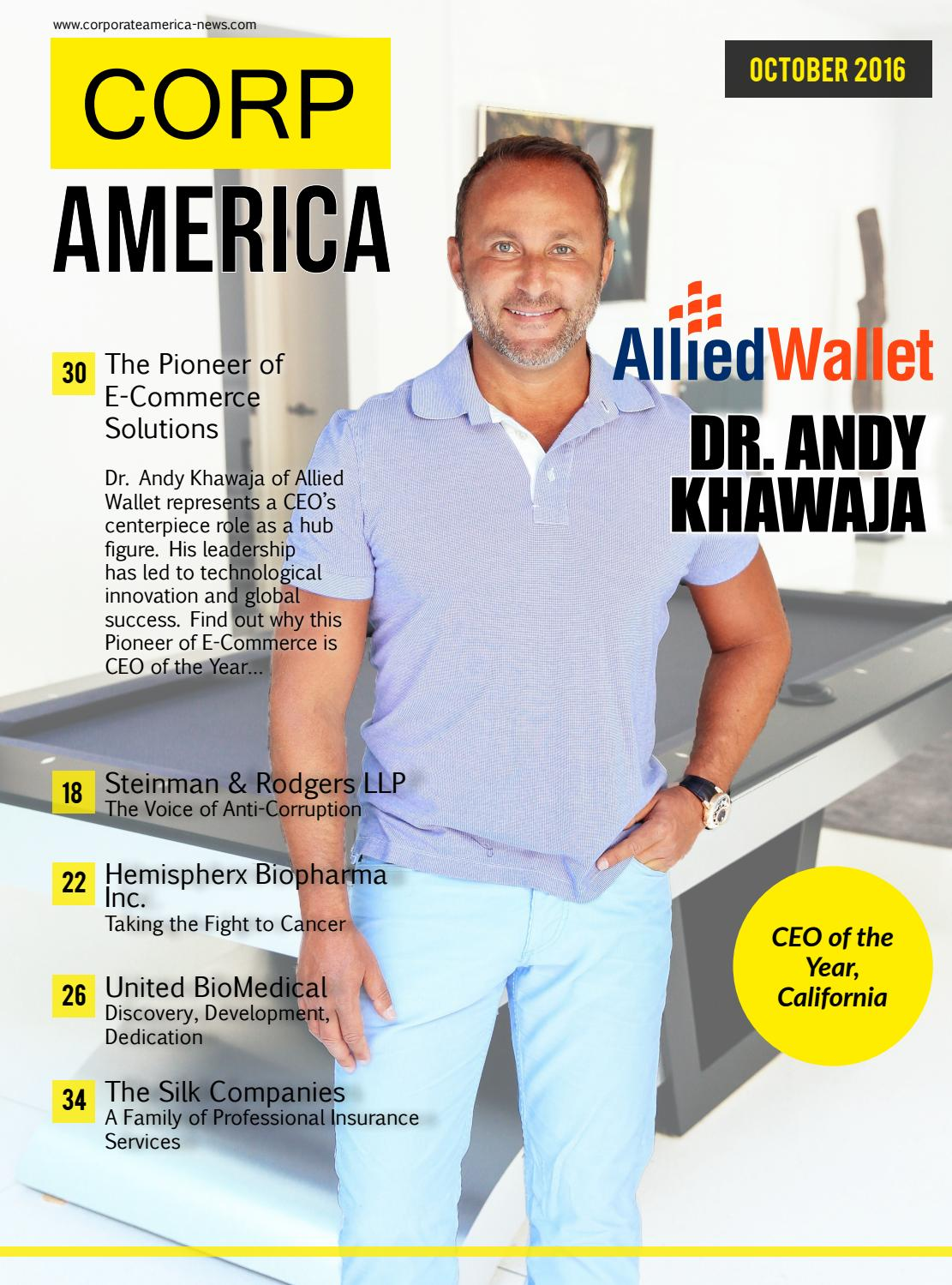 Corporate America October 2016 By Ai Global Media Issuu