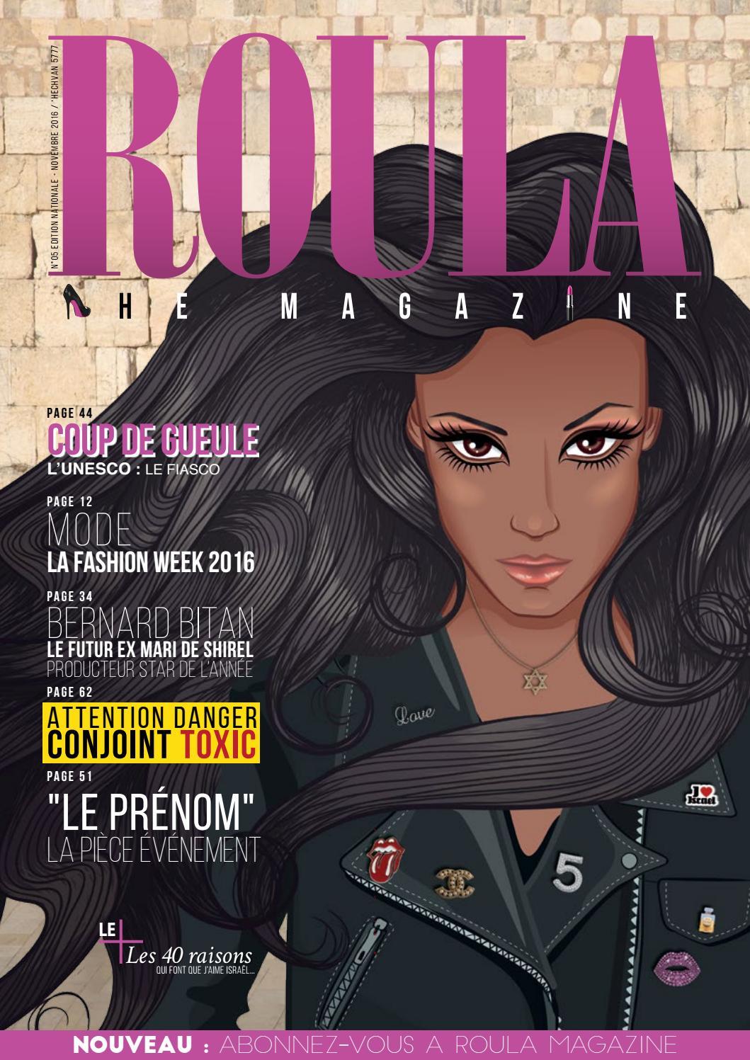 Roula Magazine n°5 by Golda Magazine - issuu