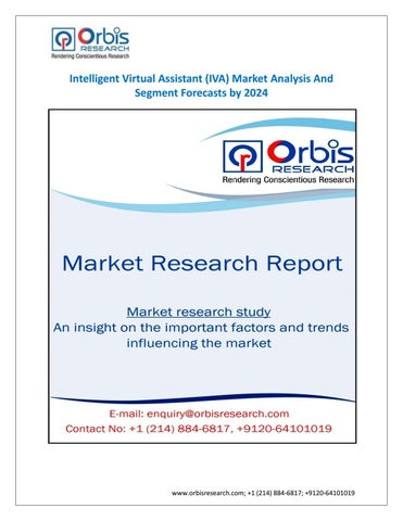 Intelligent Virtual Istant Iva Market By 2024