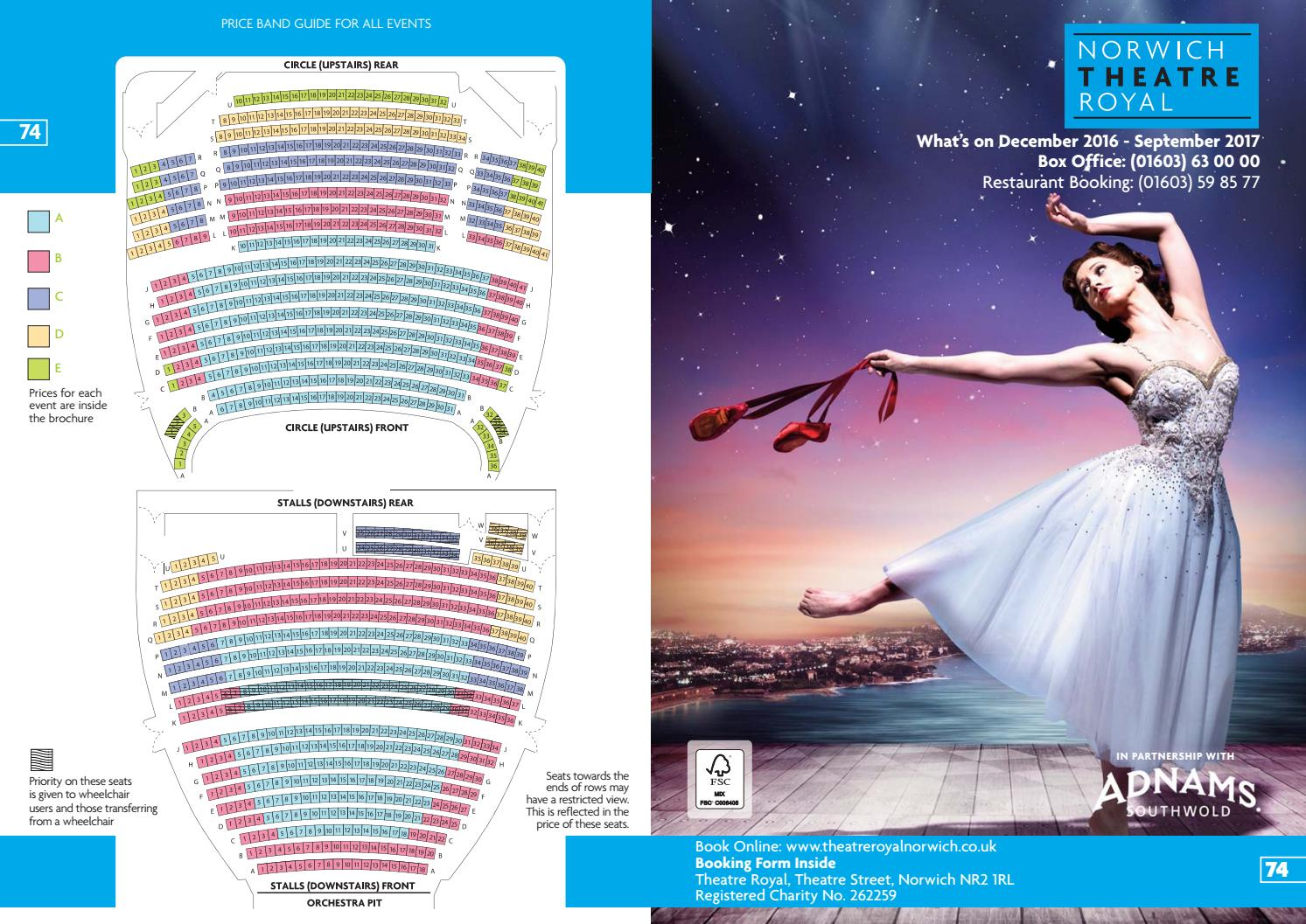 Brochure 74 December 2016 - September 2017 by Norwich Theatre Royal on