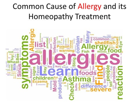 Homeopathic Medicine for Dust allergy ! Pothos Foetidus ? - YouTube